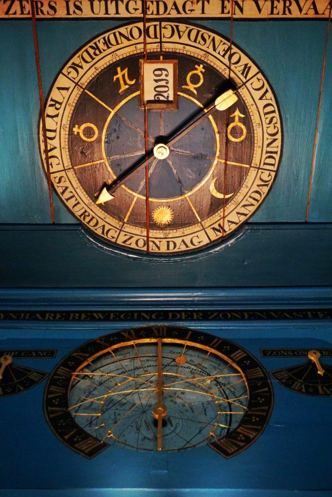 planetarium van Eise Eisinga - Nederland - Reisblog - Terschelling