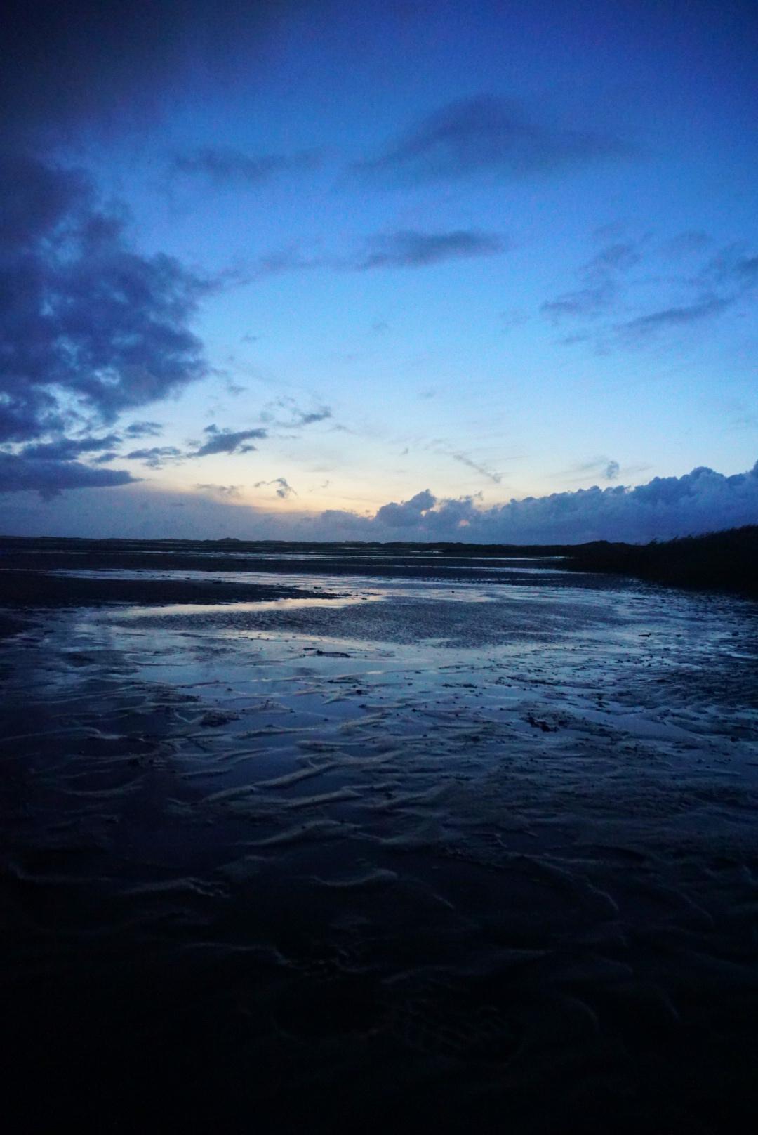 Wad Islands - The Netherlands - Sunset