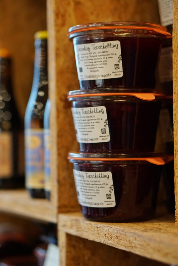 Locally produced - Sustainability - local goods jam - Terschelling