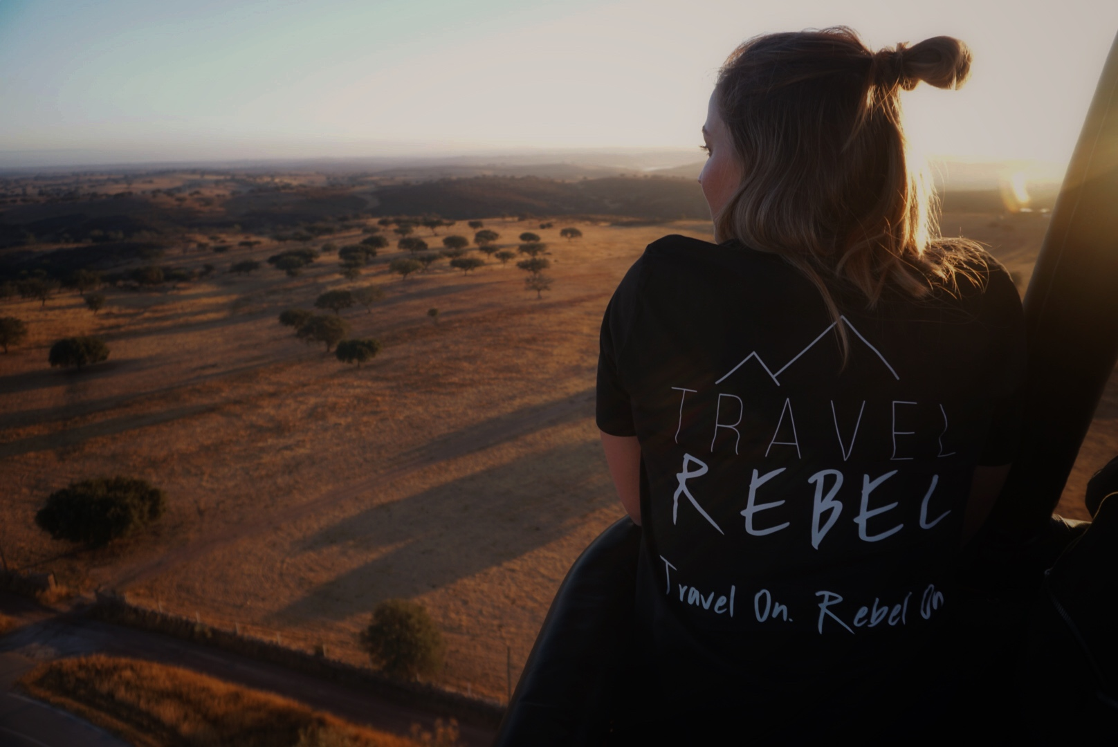 Hot Air Balloon Flight in Alentejo, Portugal - TravelRebel eco T-shirts
