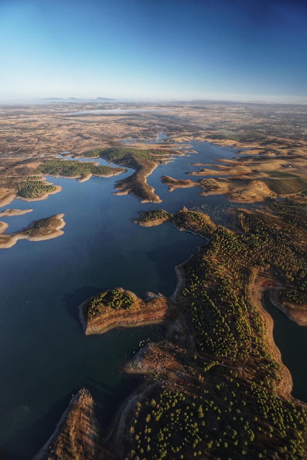 Alentejo Portugal vanuit de lucht door TravelRebel