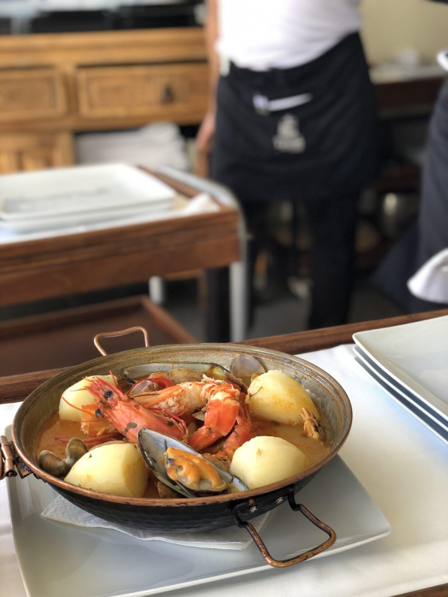 Restaurante O Pátio, Carvoeiro, Algarve, Portugal