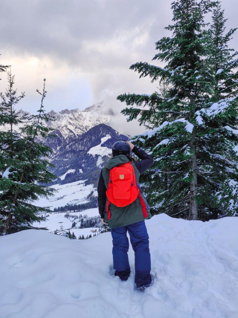 Charlotte Noël in Austria Hochkönig in Austria your fave ski destination!