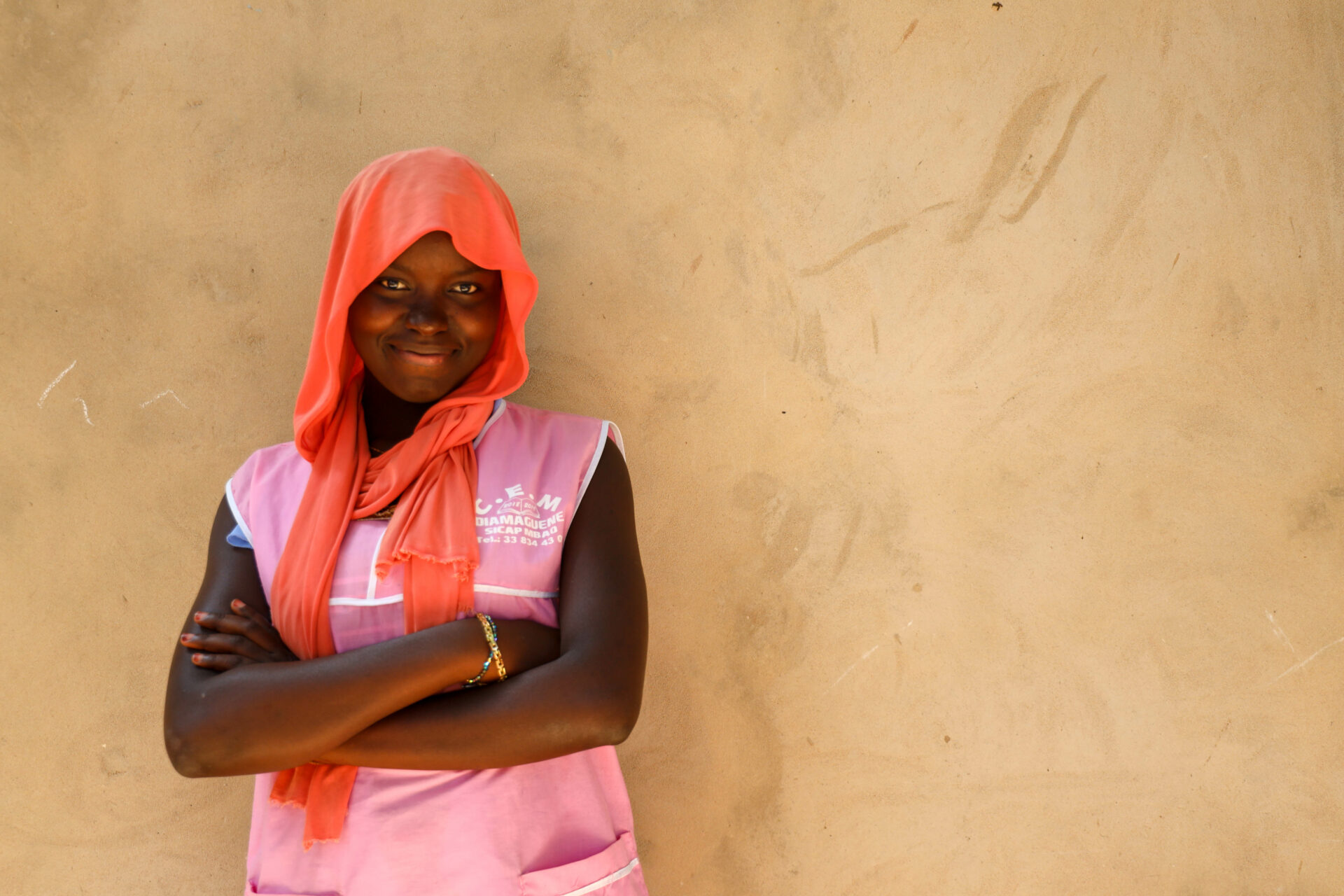 Senegal Plan International mission with influencer Charlotte Noël