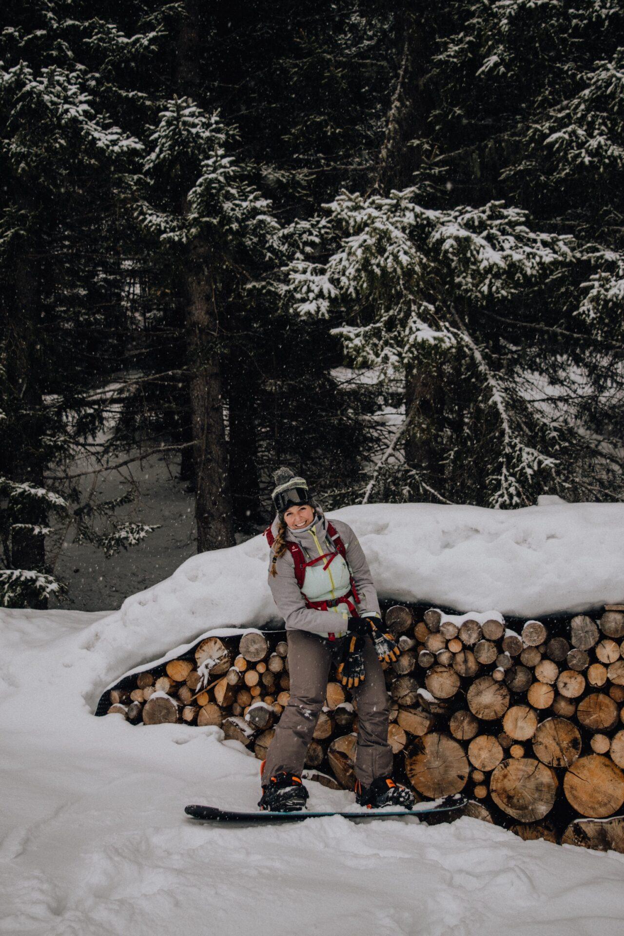 TravelRebel gastblogger Silke snowboarden in Italië - Dolomieten