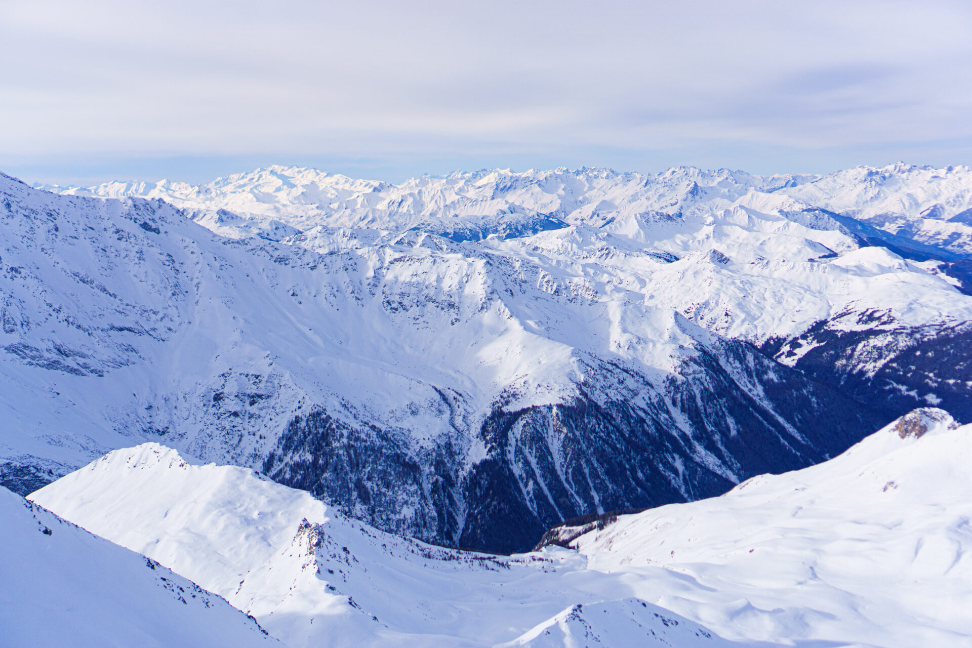 Go skiing in Les Arcs France