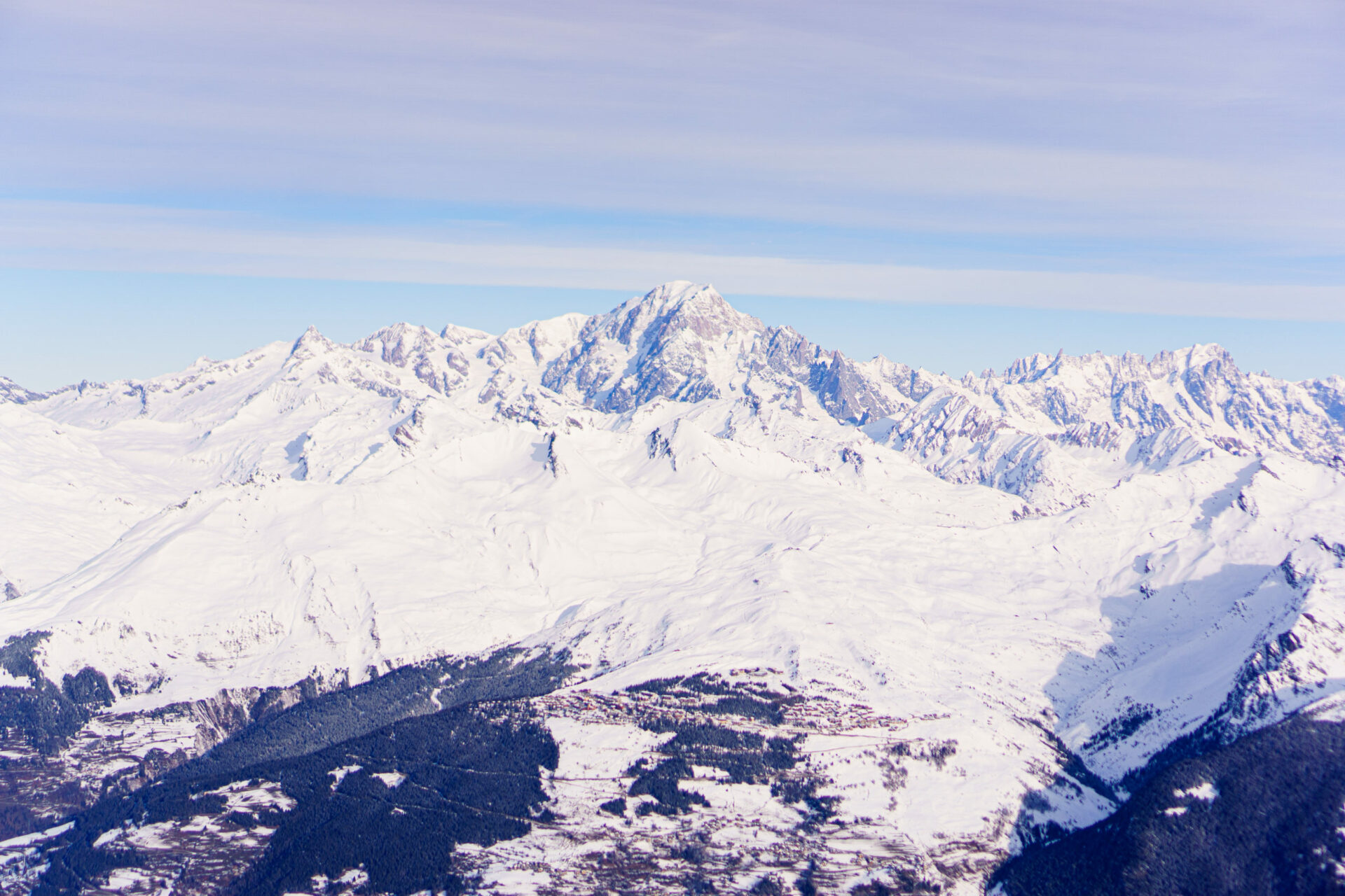 Les Arcs, France, a ecofriendly destination