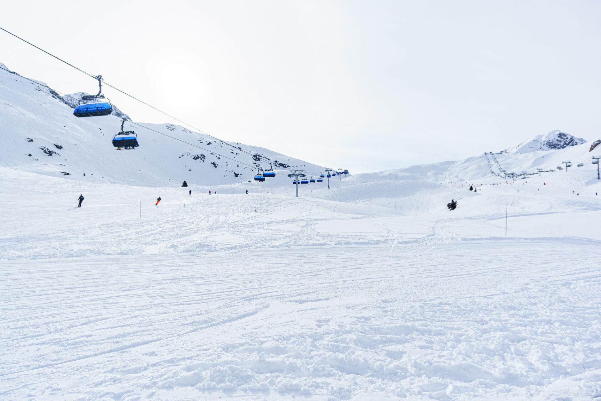 Perfect ski destination in France, Les Arcs