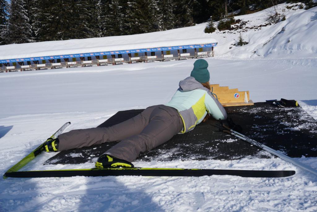 Beware Crazy Skiing Man Sports Water Bottle Sport Funny Skier Joke