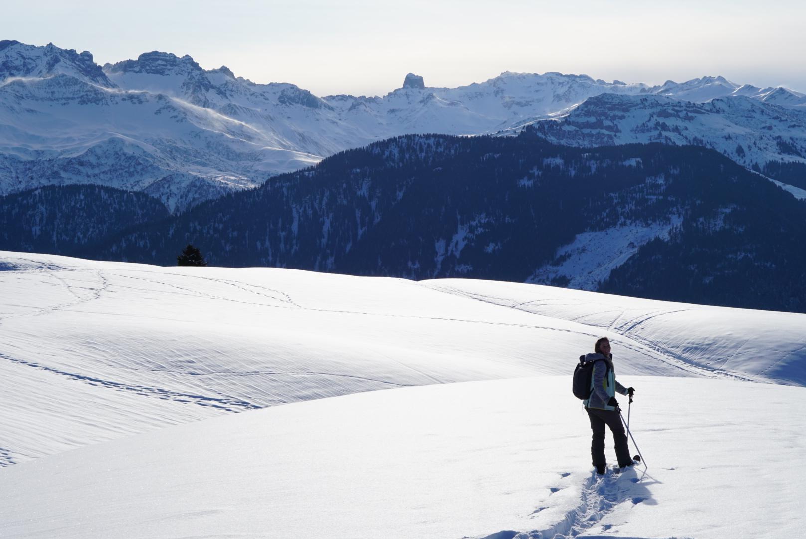 Ski Raquettes in Savoie Mont Blanc, Frankrijk