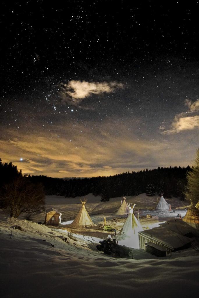 Slapen in een tipi in Frankrijk! Het kan ook in Savoie Mont Blanc, Massif des Bauges