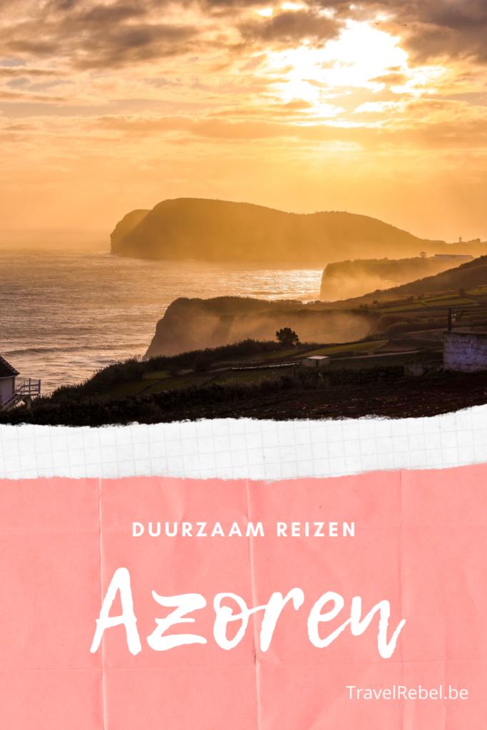 Onbekende eilanden van de Azoren - Duurzaam reizen