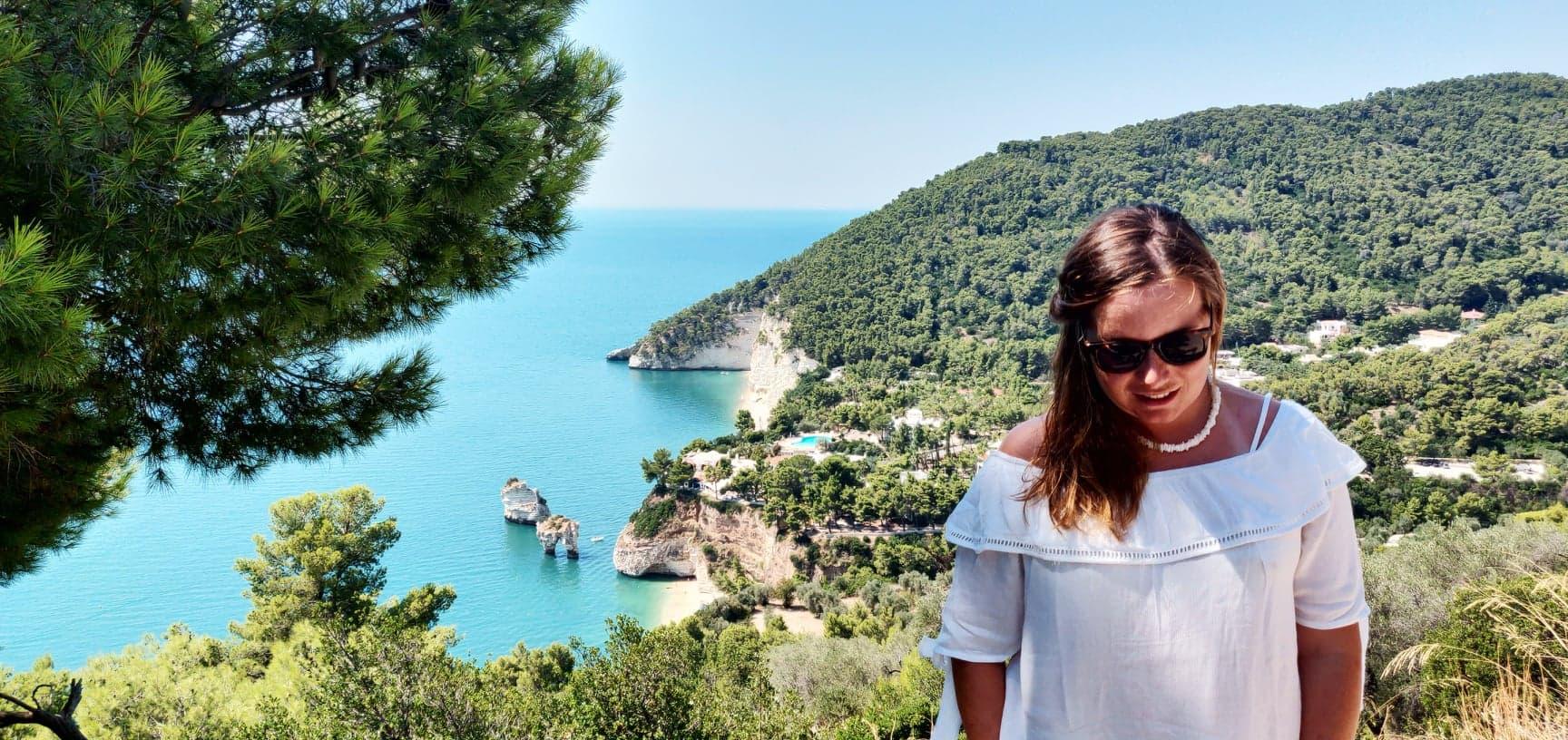 De meeste mooiste stranden in heel Italië zijn dichtbij Vieste zoals de Baia delle Zagare en het strand van Mattinata