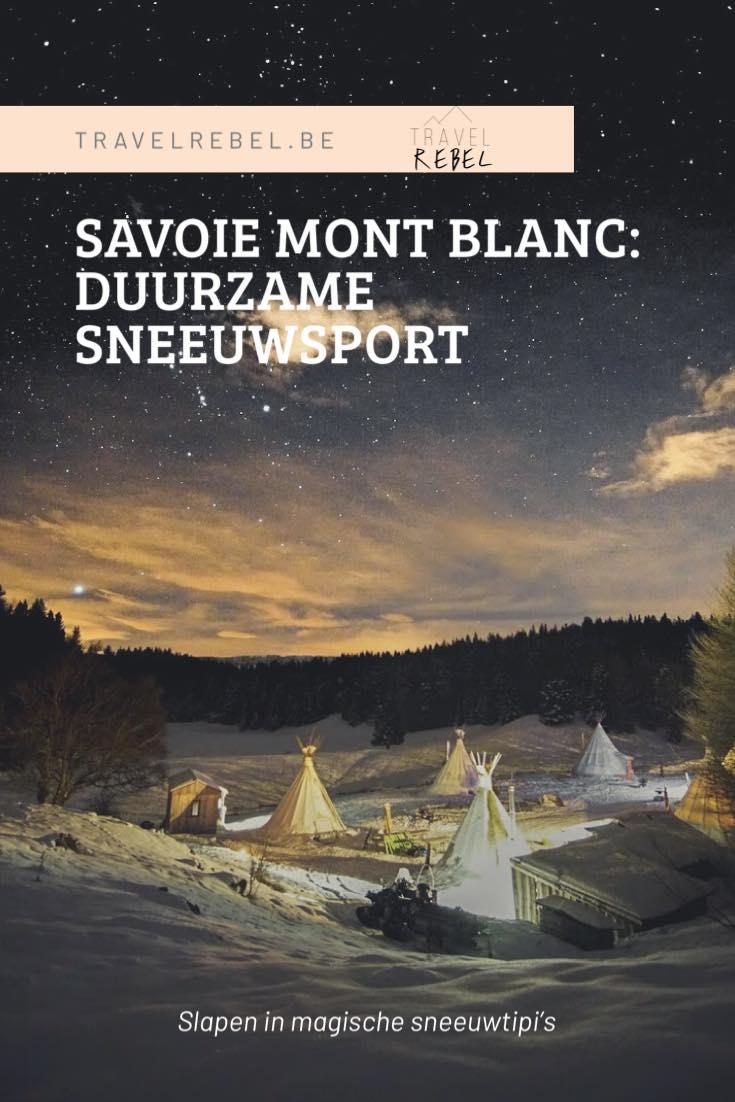Savoie Mont Blanc - Duurzame sneeuwsport