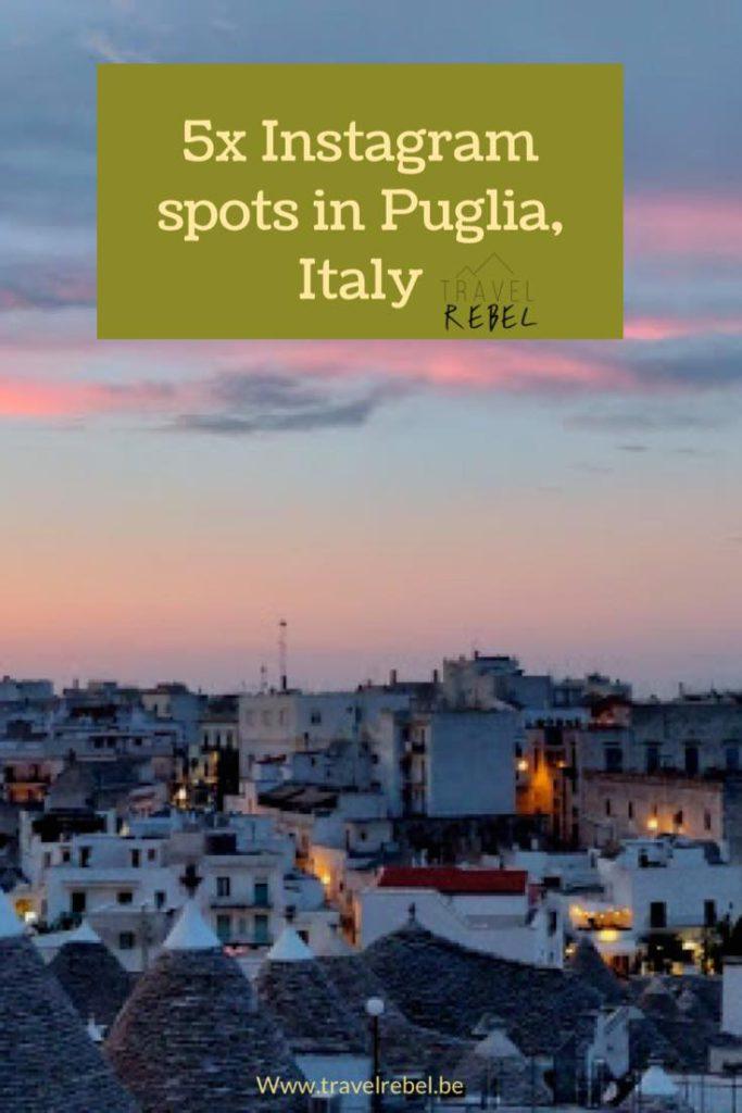 5 Instagram spots in Puglia, Italy
