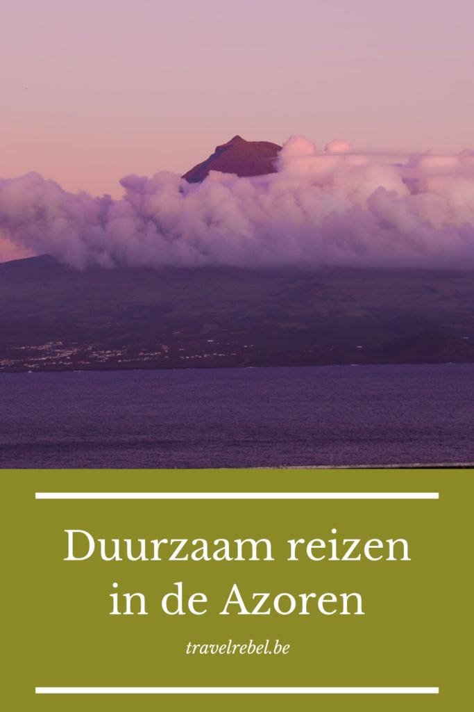 Duurzaam reizen in de Azoren