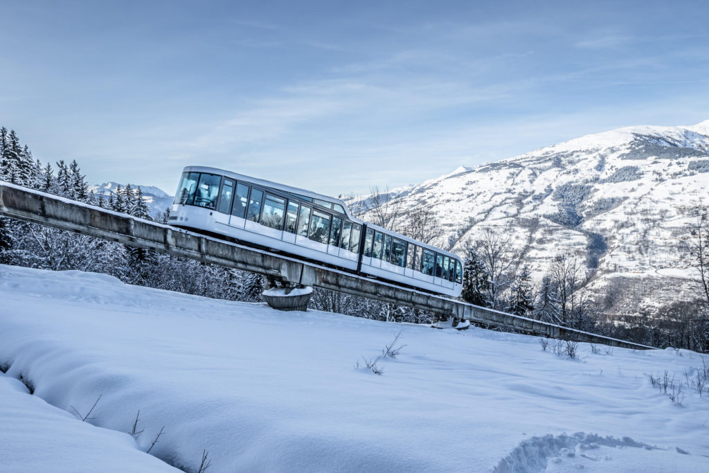 full electric funicular