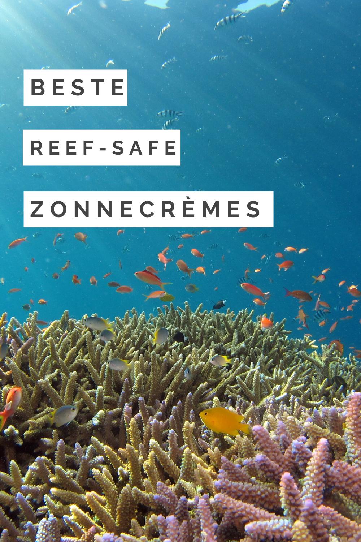 Beste Reef-safe zonnecrèmes