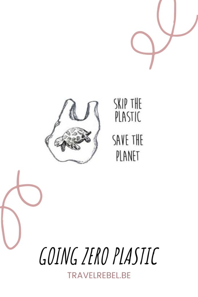 Goin Zero Plastic