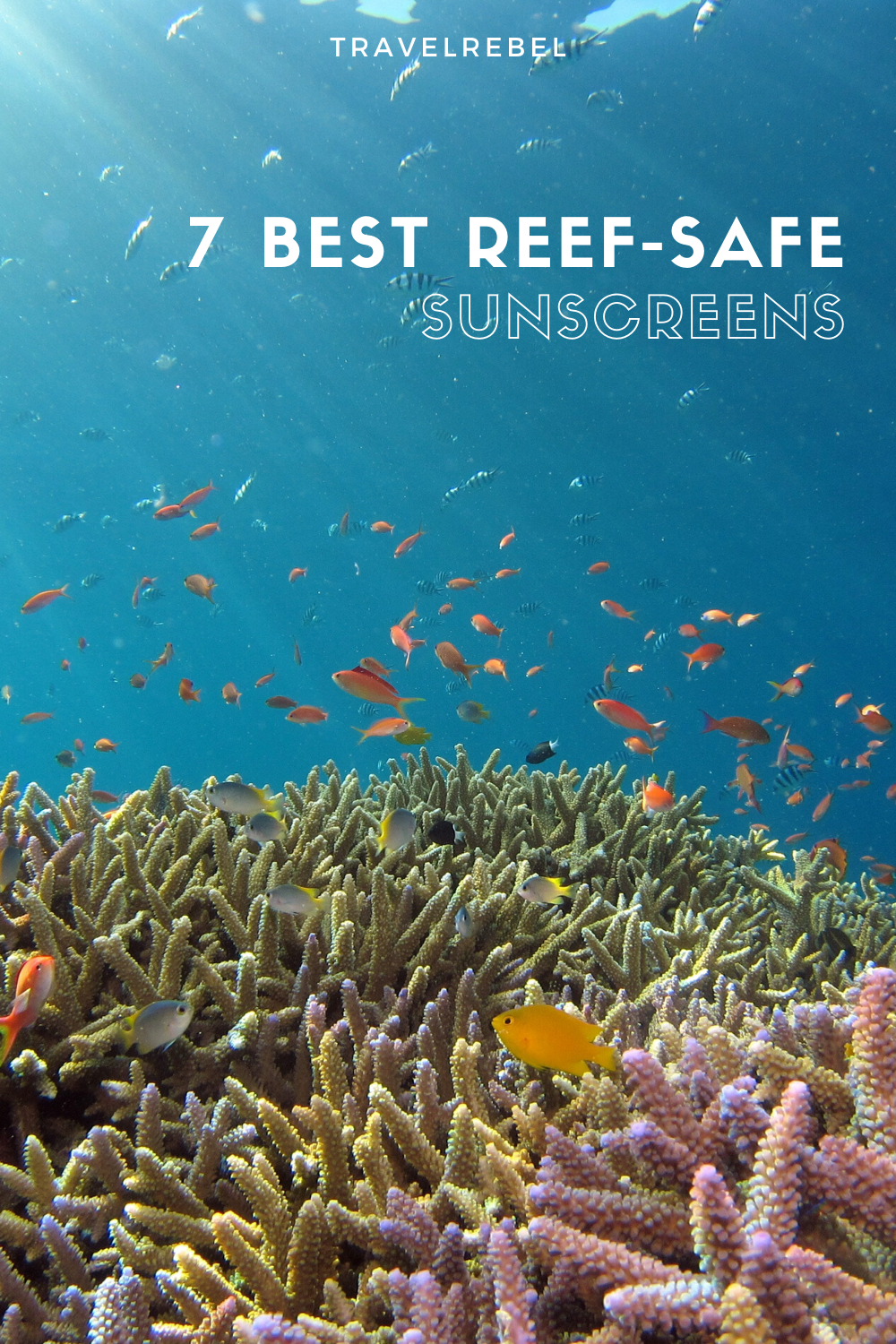 Best reef-safe sunscreens