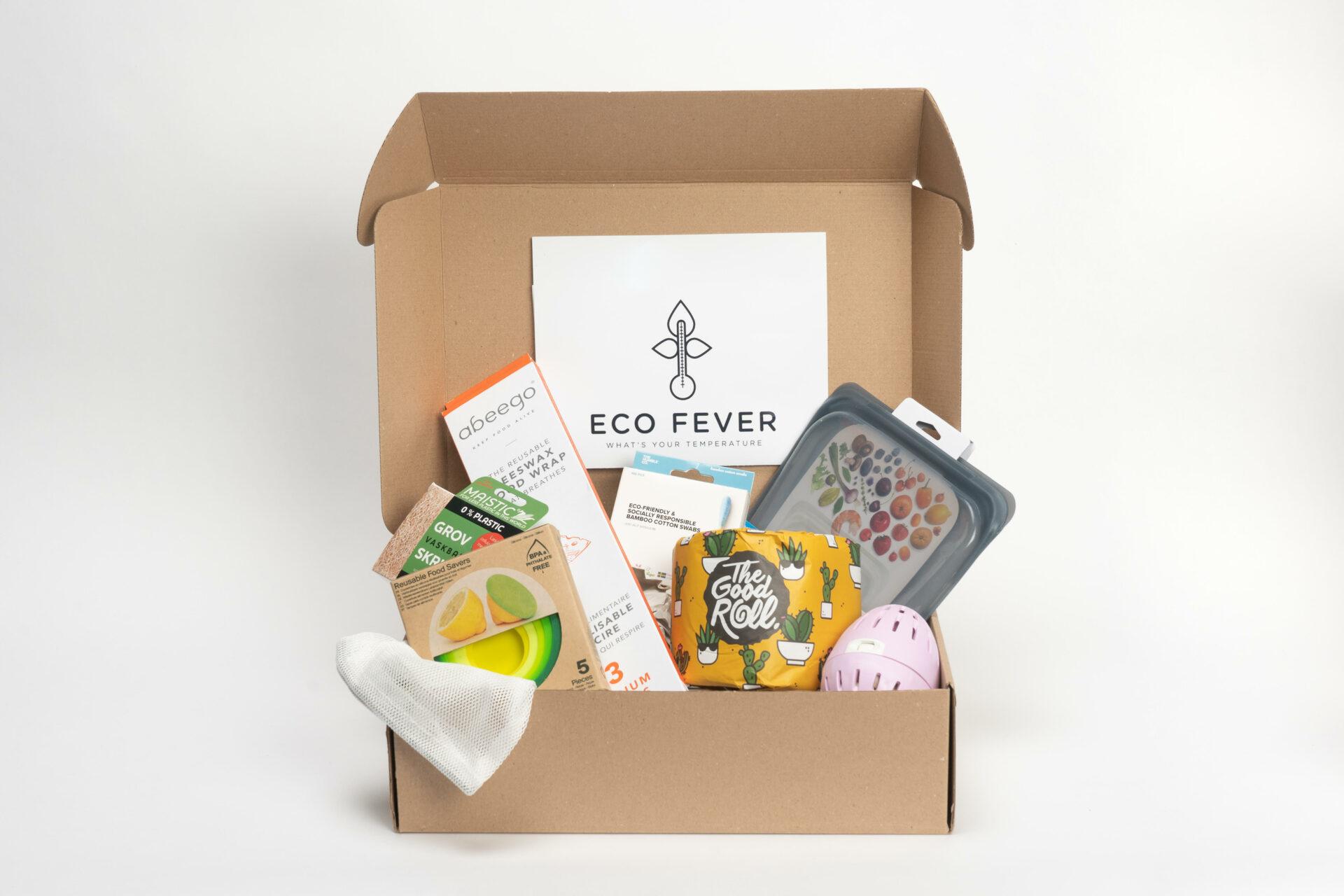Win een leuke EcoFever box voor Mei Plasticvrij en ga zero plastic