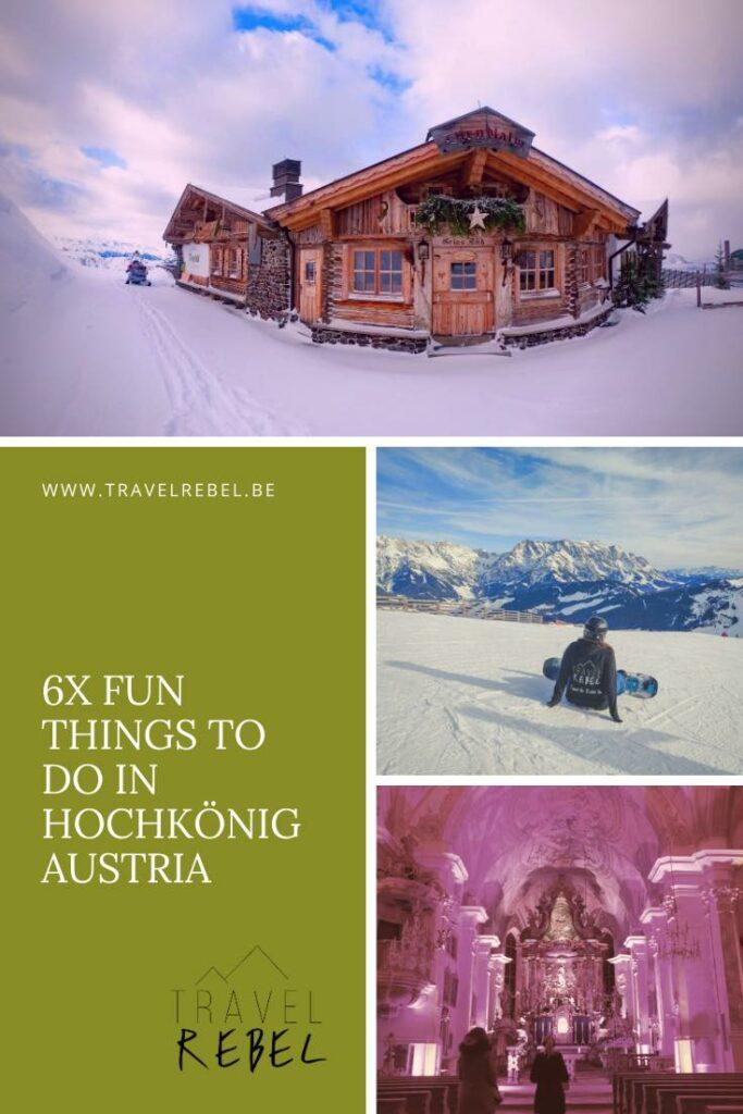 6 fun things to do in Hochkönig Austria