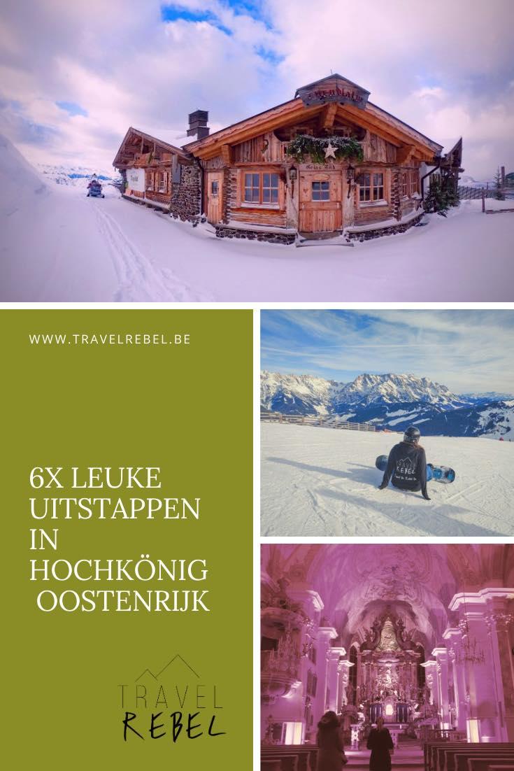 6x leuke uitstappen in Hochkönig, Oostenrijk