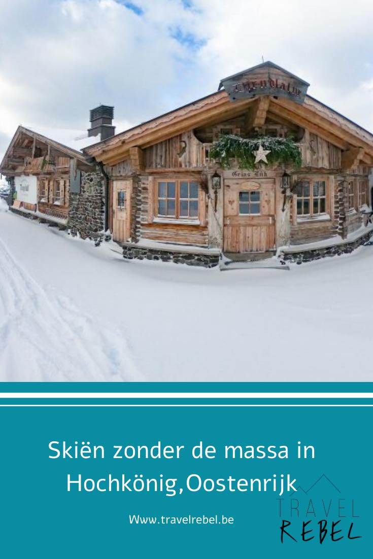 Skiën zonder de massa in Hochkönig, Oostenrijk