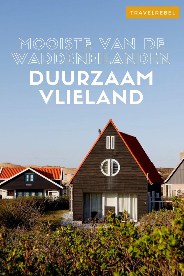 Duurzaam reizen in Nederland. Dat kan op de Waddeneilanden