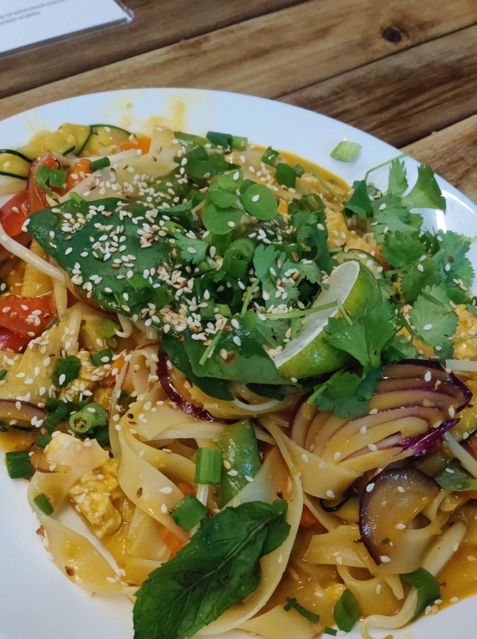 Vegan noodle dish