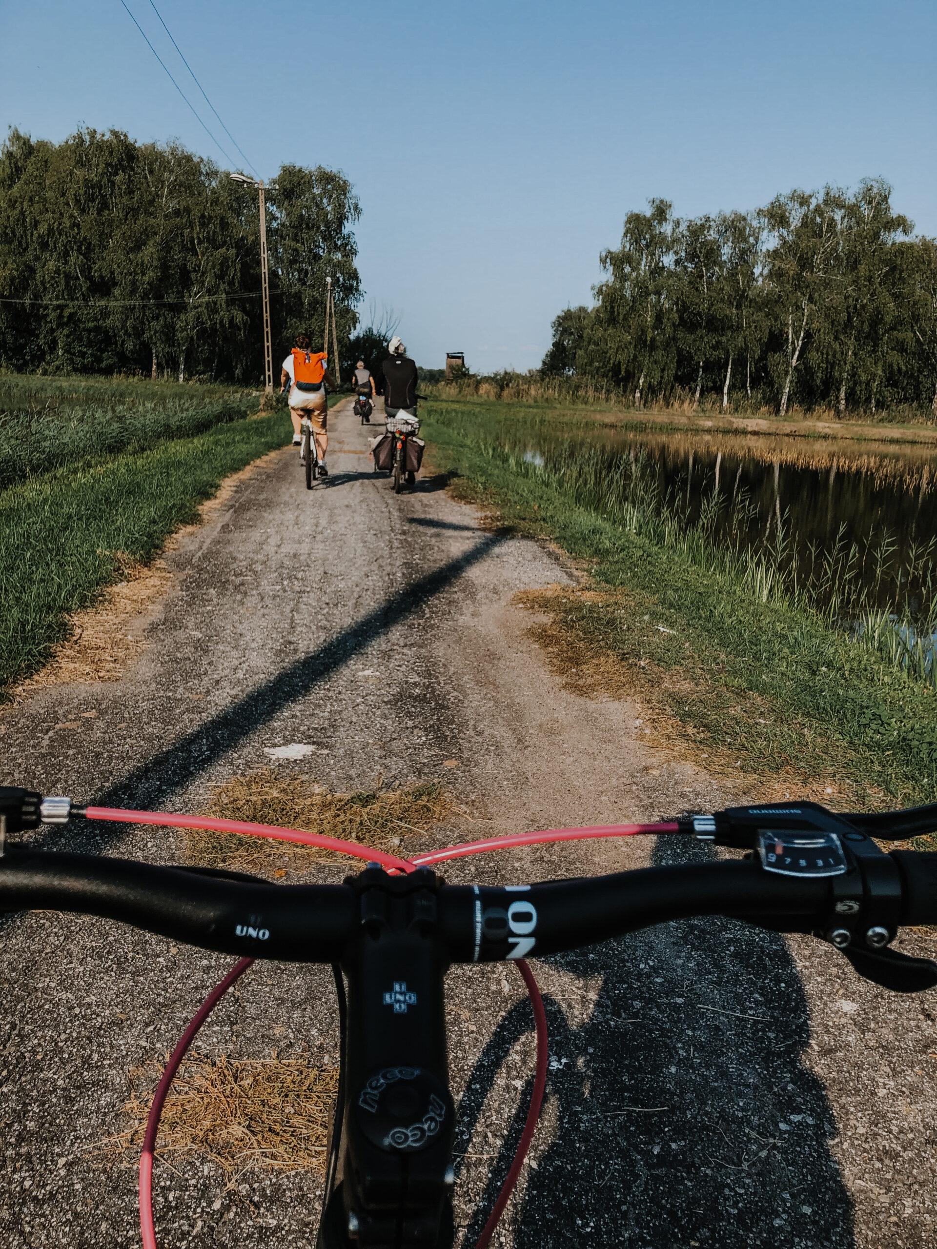 Fietsen in de Neder-Silezië regio in Polen