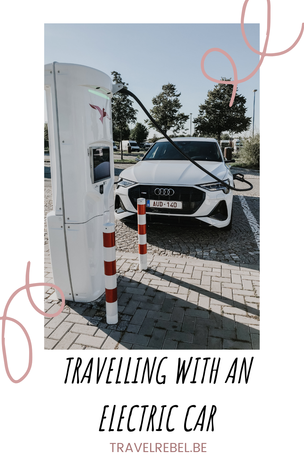 Travelling by electric car (Audi e-tron Sportback)