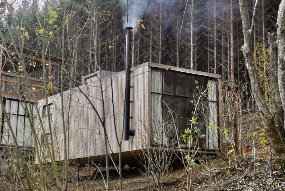 Nutchel cosy cabin in Martelange