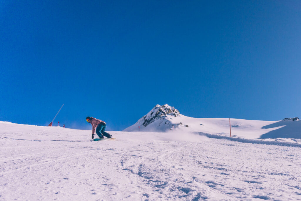 Charlotte Noël hitting the slopes at Ischgl, Austria