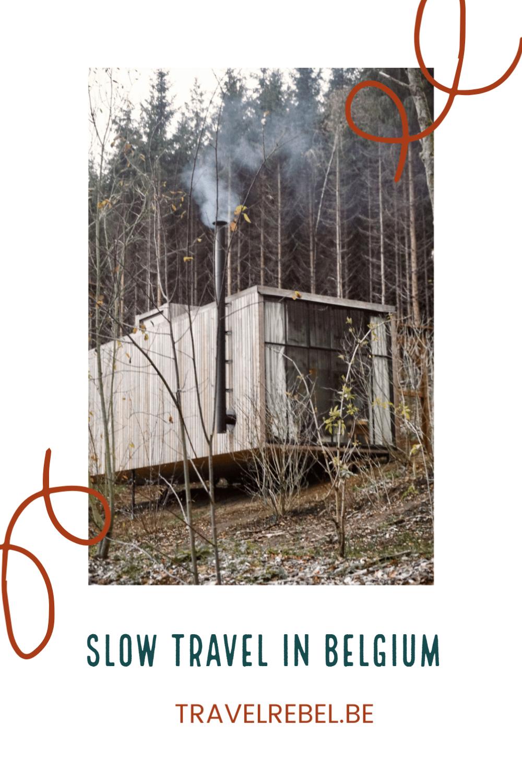 Slow travel in Belgium