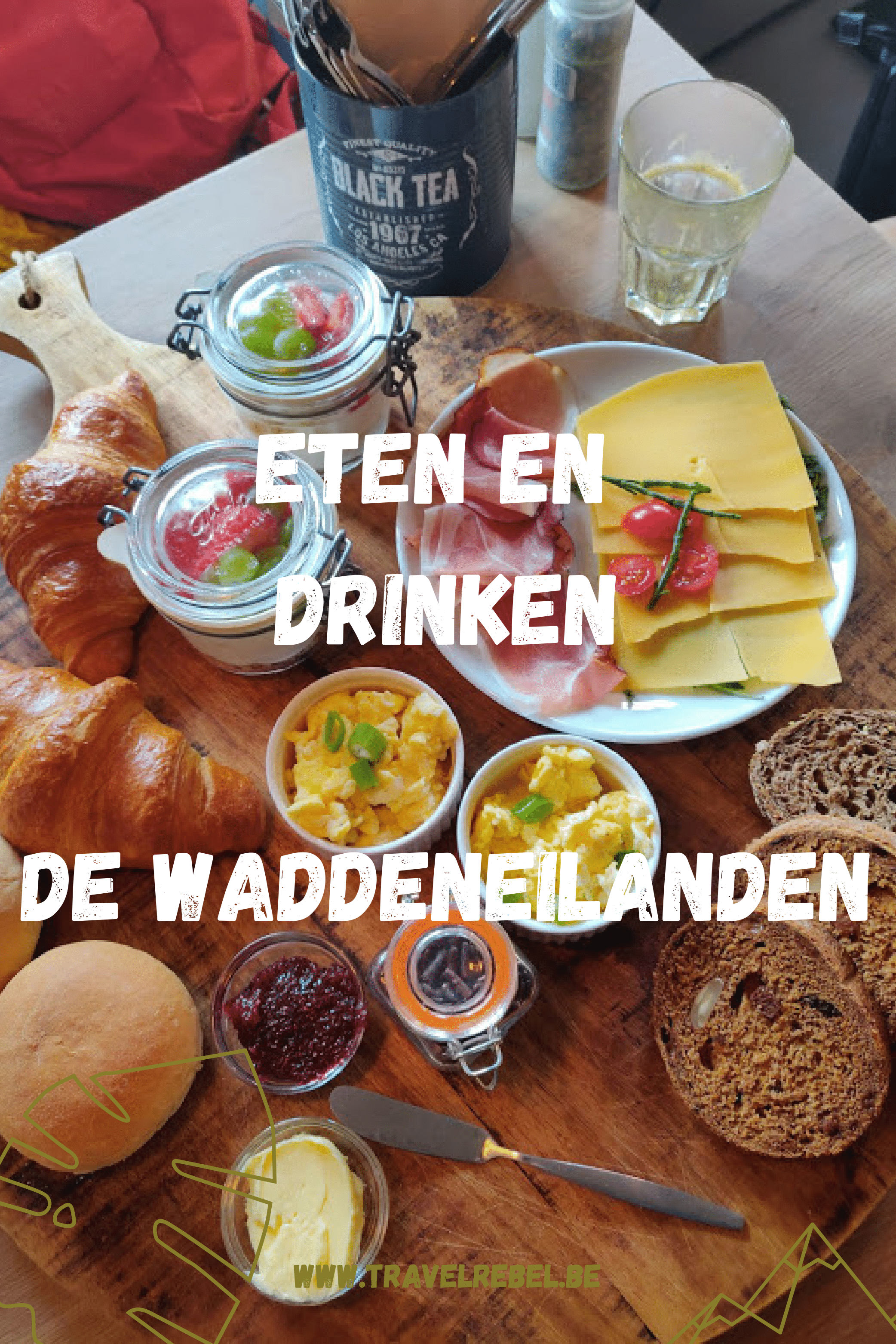 eten en drinken - De Waddeneilanden - Nederland